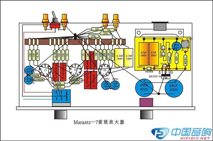 marantz―7前级放大器搭棚图图片