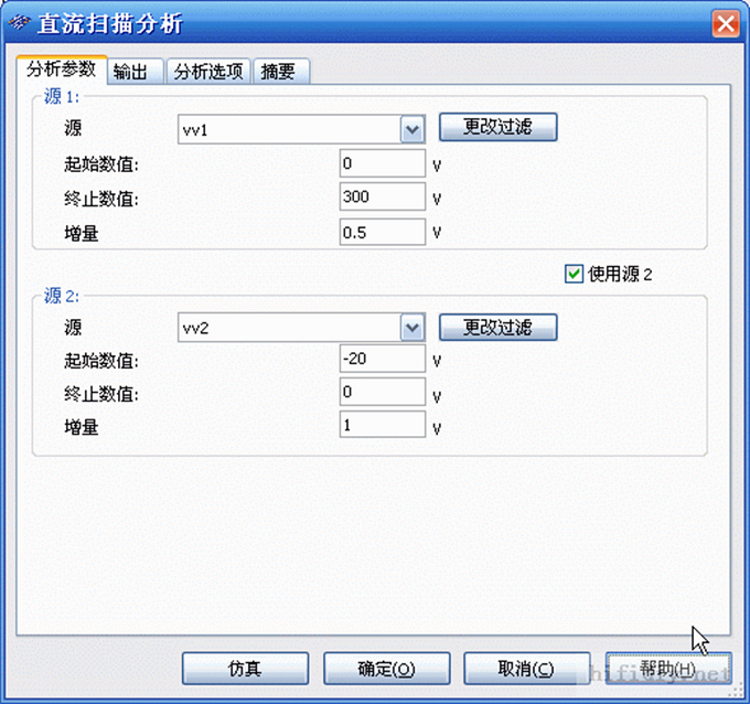 软件必备 用multisim 10作胆管v-i特性曲线